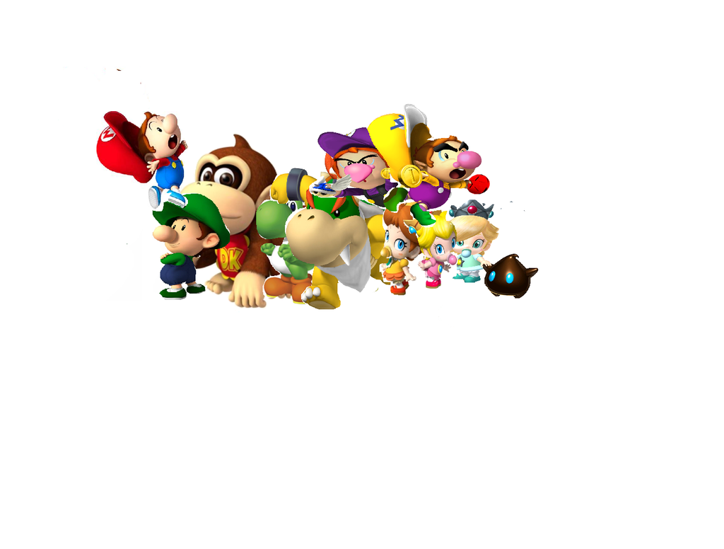 mario characters as Babies by lexi-4 on DeviantArt