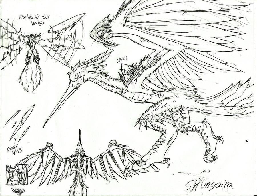 Monster Hunter: Karei's Quests Shungaira by Xengix008