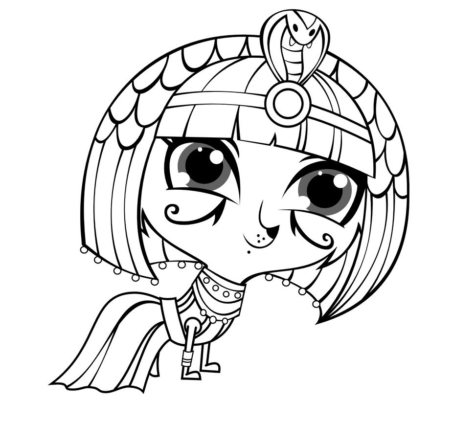 Lps Coloring Sheet Blythe - Hot Naked Babes