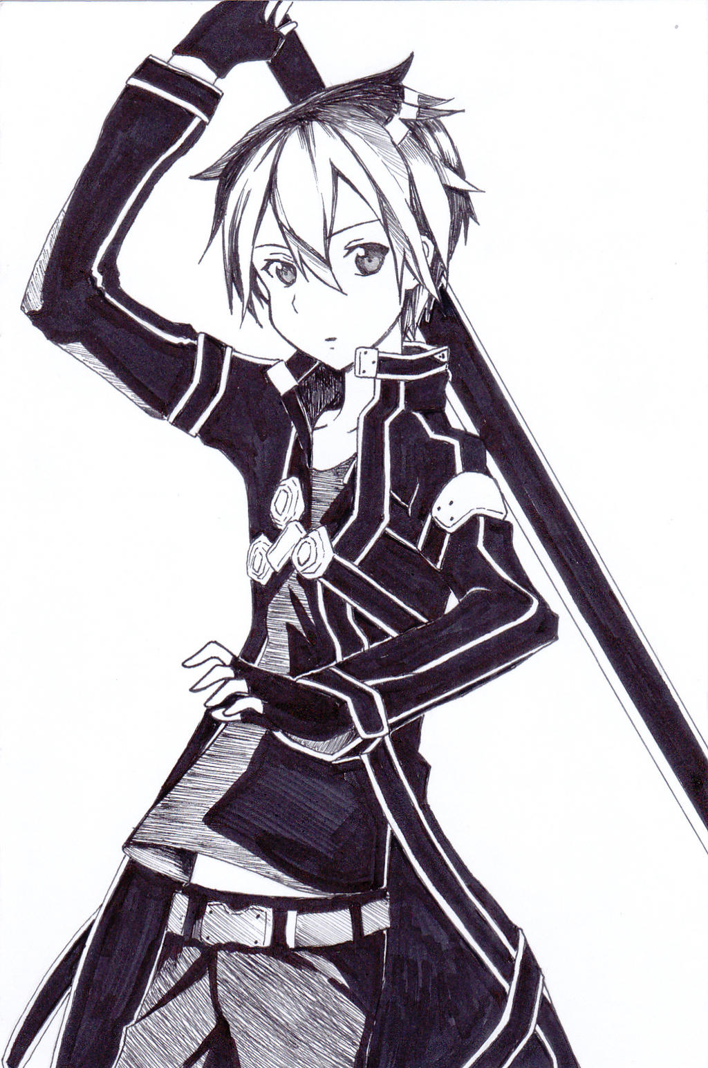 Kirito Kun Sword Art Online By Shinj1n On Deviantart