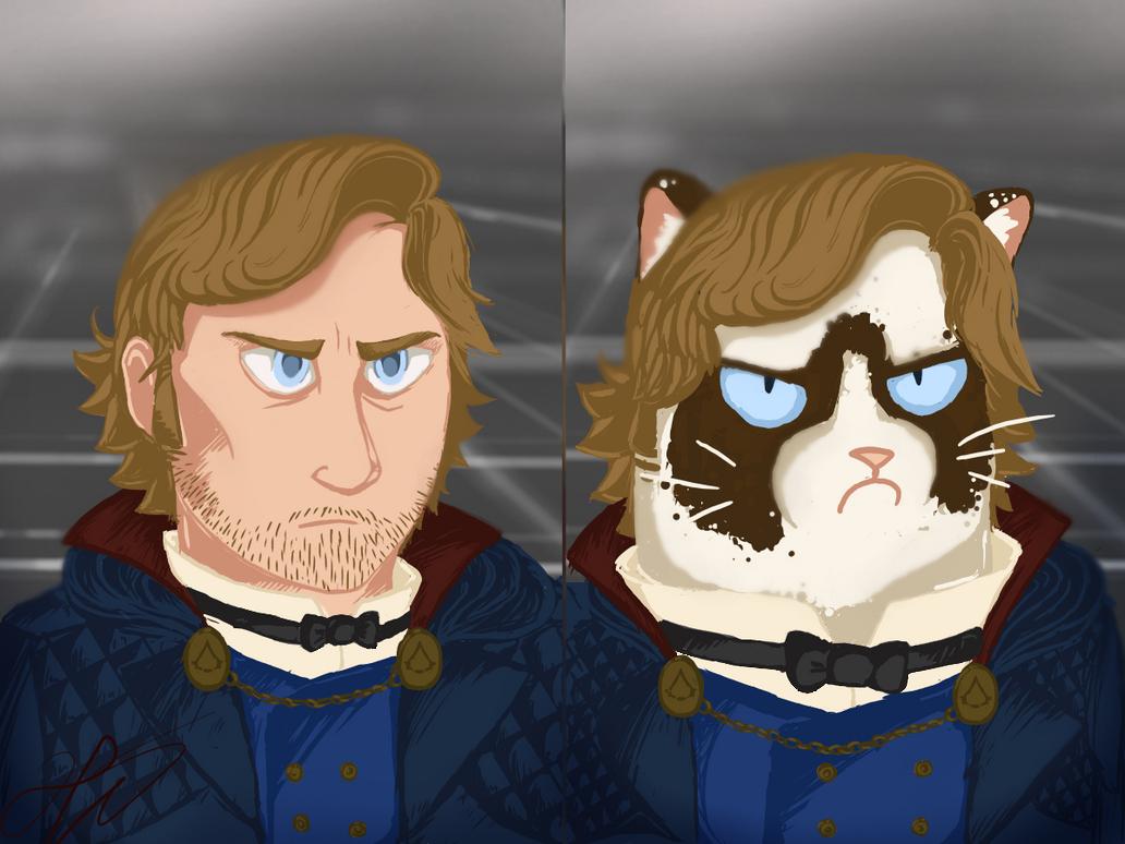 grumpy by CowgirlsOfCanada