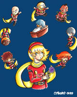 Cyborg 009 doujinshi cover by TokyoDragmire