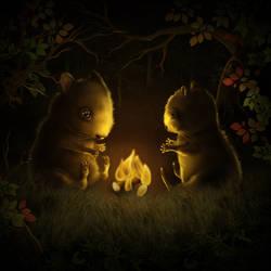 Campfire by MissSpoox