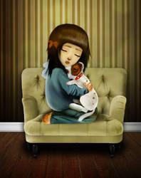 My doggie is very ill... by MissSpoox