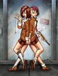 Sis7ers: Grace and Faith by StudioAkumakaze
