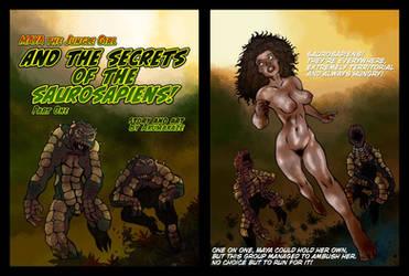 Maya the Jungle Girl (Volume I) pages 2 and 3 by StudioAkumakaze