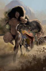 Maya the Jungle Girl - When Breakfast Chases You! by StudioAkumakaze