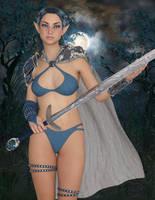 Blue Oak Elf by zilla73