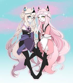 ~*Mai and Momo*~