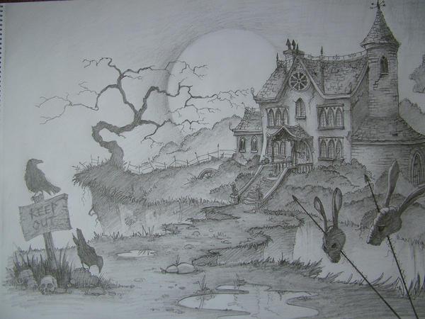 Haunted House By MrTomLong On DeviantArt