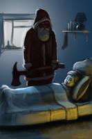 bad santa by MrTomLong