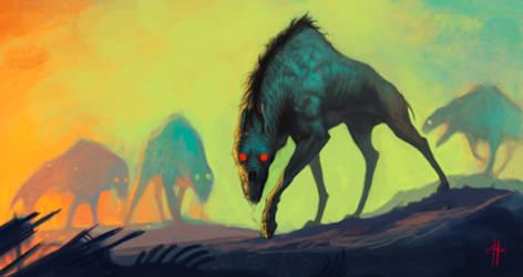 Hell Hound by MrTomLong