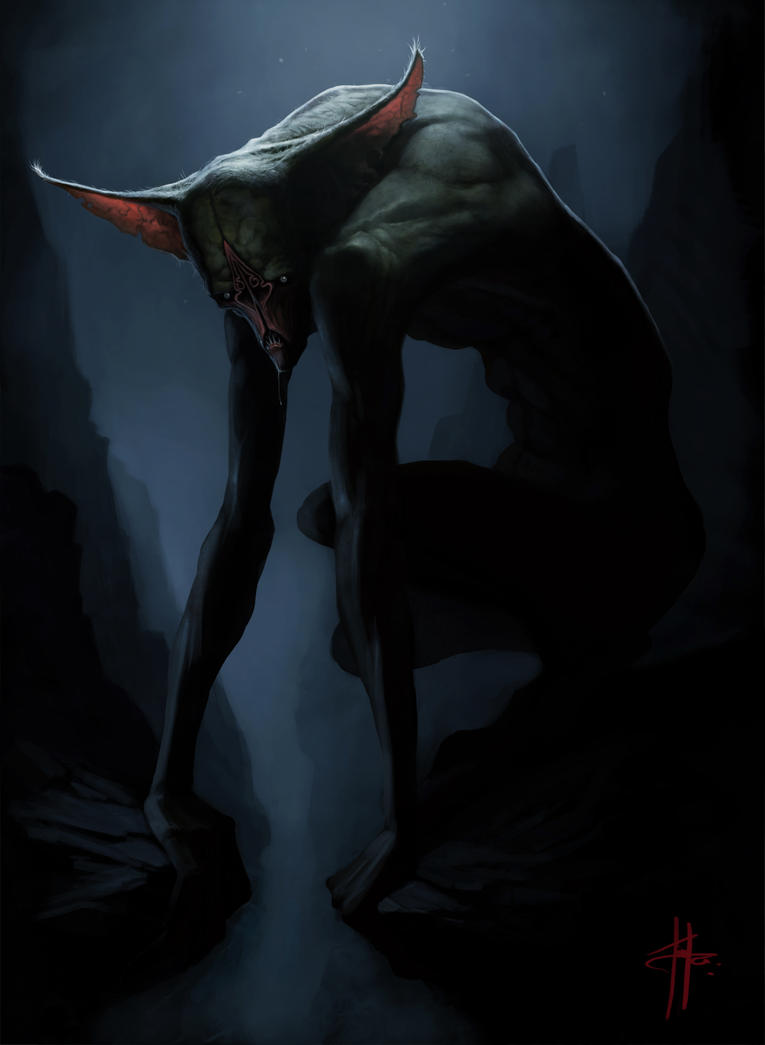 Cave Creature by MrTomLong