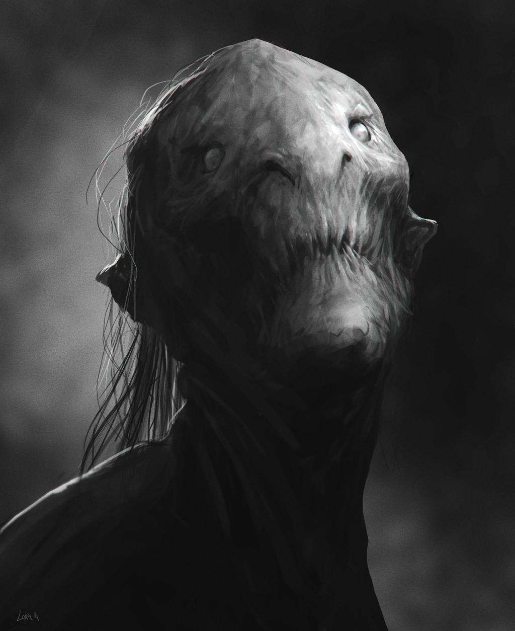 Creature Bust by MrTomLong