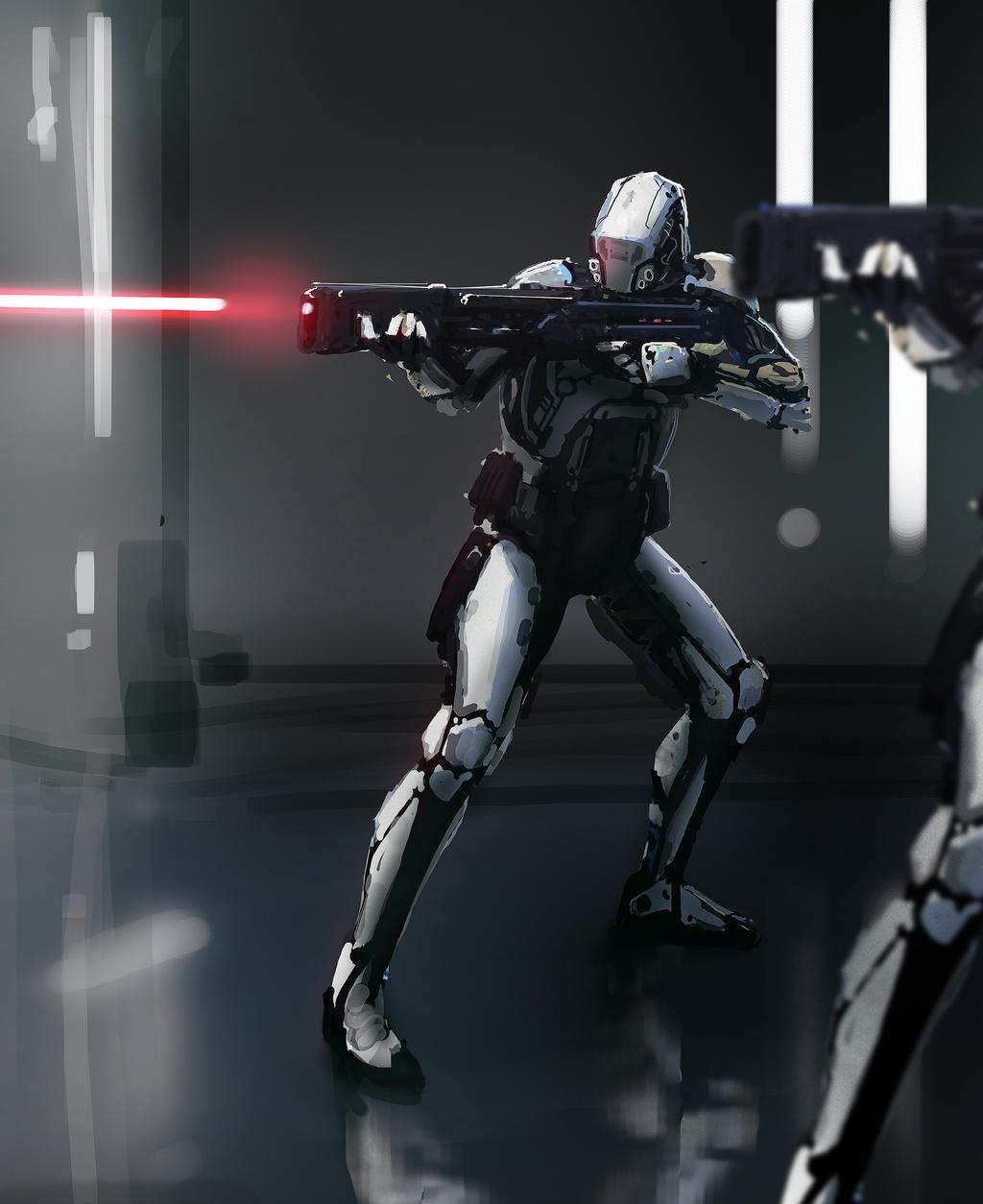 Stormtrooper by MrTomLong