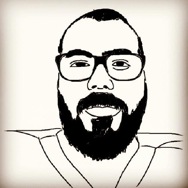 The Bearded Writer #2 by Jack-USA