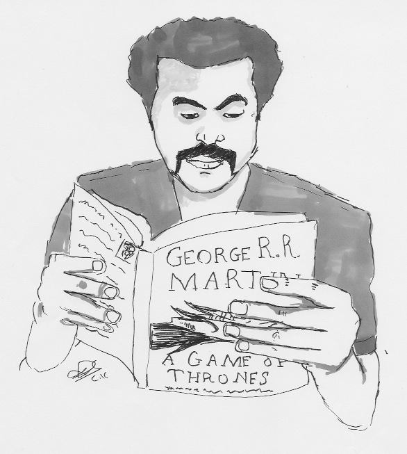The Mustache Reader by Jack-USA