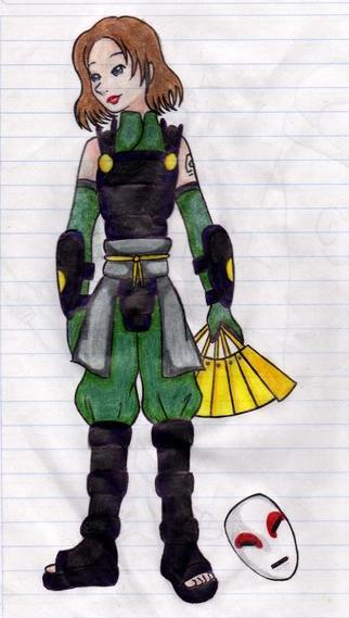 ATLA vs Naruto: Suki Anbu by Maoden-DOis