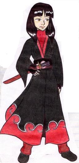 ATLA vs Naruto: Mai Akatsuki by Maoden-DOis