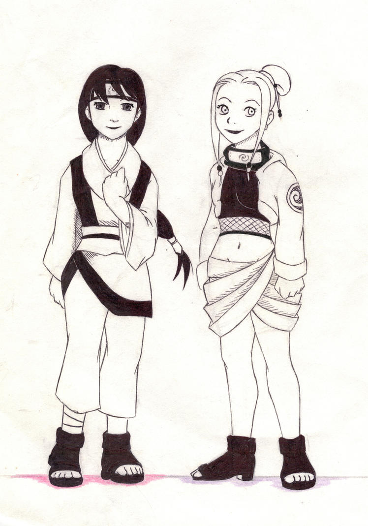 Song and Yue, Kishimoto style by Maoden-DOis