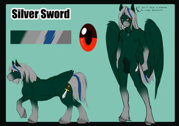 ..::Comm 2/5::.. Silver Sword Ref by TheEcchiQueen