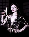 Eva Green - Sin City. Inspired bodypaint