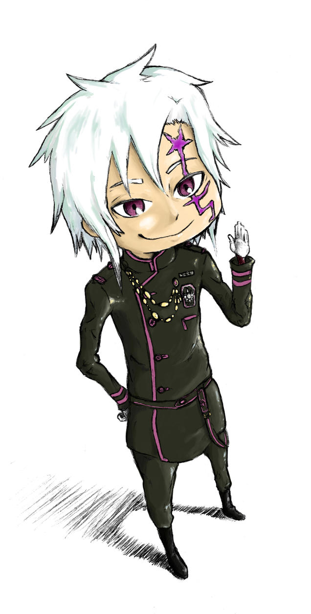 Allen Walker Chibi by pi-ka