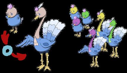 Fakemon Contest: Peadap pre-evo and evo