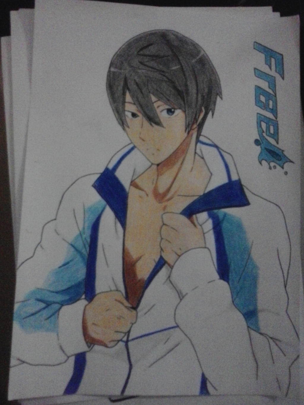 Free haruka nanase by tamacchi on deviantart for Free online drawing
