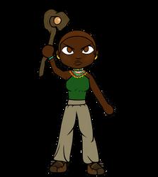 Ayanda Warrior Pose