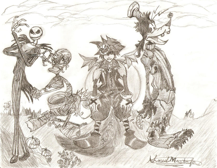 Kingdom Hearts Halloween Town by TheOtherside666 on DeviantArt