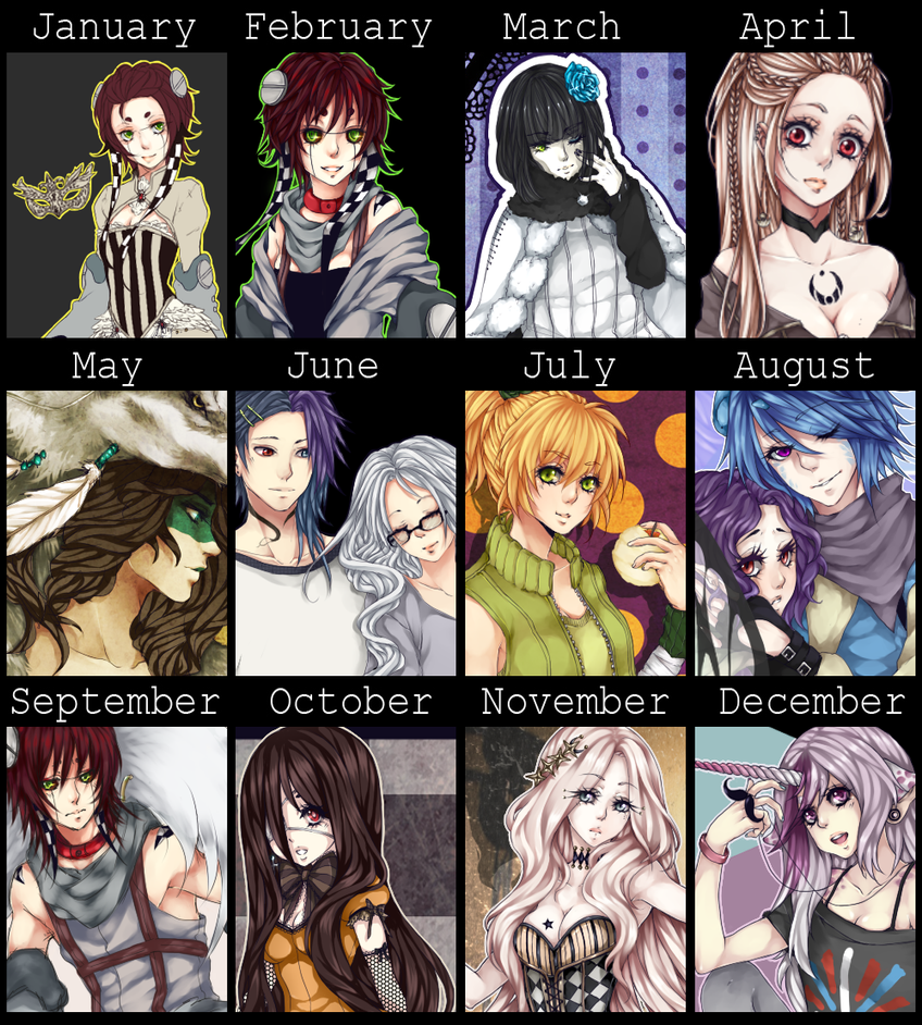 DeathatSunrise Art Summary 2012 by DeathatSunrise