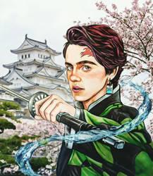 Tanjiro Kamado by junior04martins