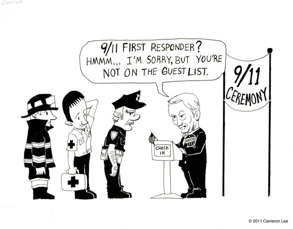 9/11 Political Cartoon by Cameron-Lee on DeviantArt