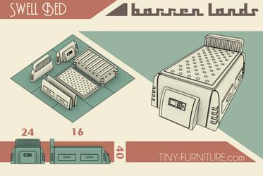 Barren Lands Modular Bed