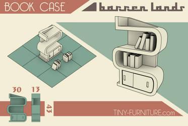 Barren Lands Book Case