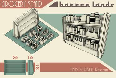 Barren Lands Grocery Stand