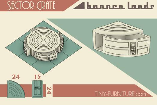 Barren Lands Sector Crate