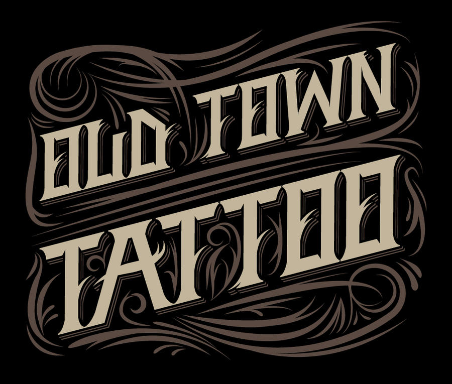 Old Town Tattoo Shirt by ~ftntravis