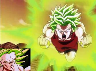 Kale The Legendary Super Saiyan by k-dsan
