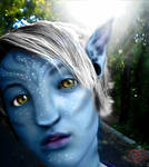The silver haired na'vi