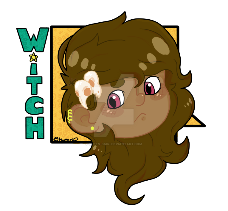 thewitch Cathrine icon by WolfStrawberryEater