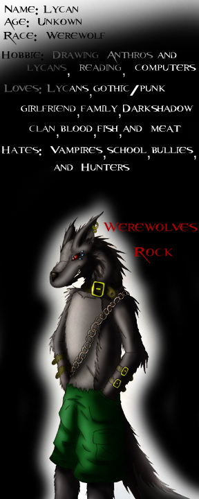 WerewolfBoy's Profile Picture