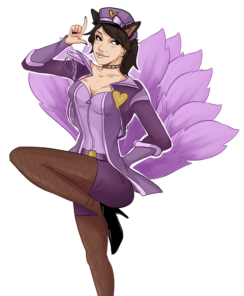 Ahri commission by 15p