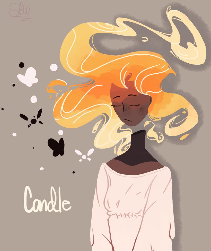 Candle by SketchBookWonders
