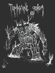 Tombstone Golem by Lazy-Litch