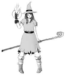 Witch Character Concept by Lazy-Litch