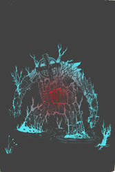 Tombstone golem Color varient by Lazy-Litch