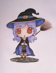 Witch-Chibi by valaMS
