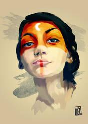 Selfportrait by NecoTHO